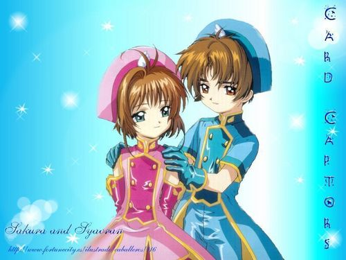 Cardcaptor Sakura wallpaper called Sakura & Syaoran