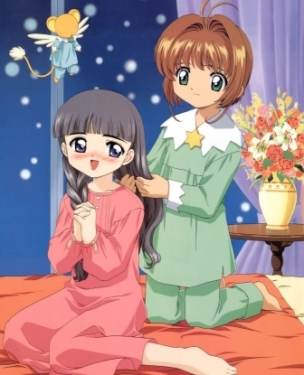 Cardcaptor Sakura wallpaper called Sakura Tomoyo & Kero