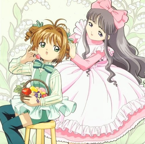 Cardcaptor Sakura wallpaper called Sakura & Tomoyo