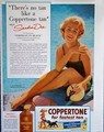 Sandra Dee Vintage Coppertone Ad - a-summer-place photo