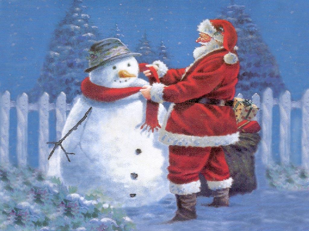 santa claus christmas wallpaper 2736338 fanpop
