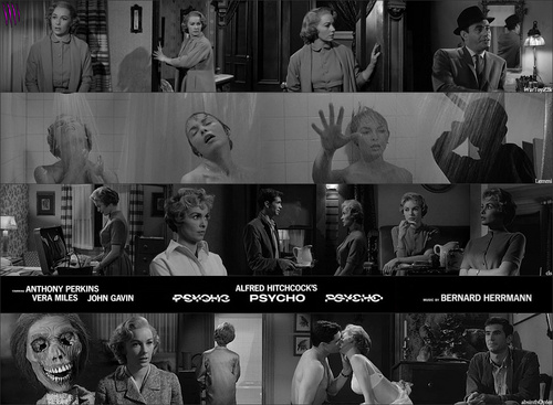Horror Movies wallpaper entitled Scenes From Psycho