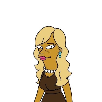 Simpson Version Of The CariDee