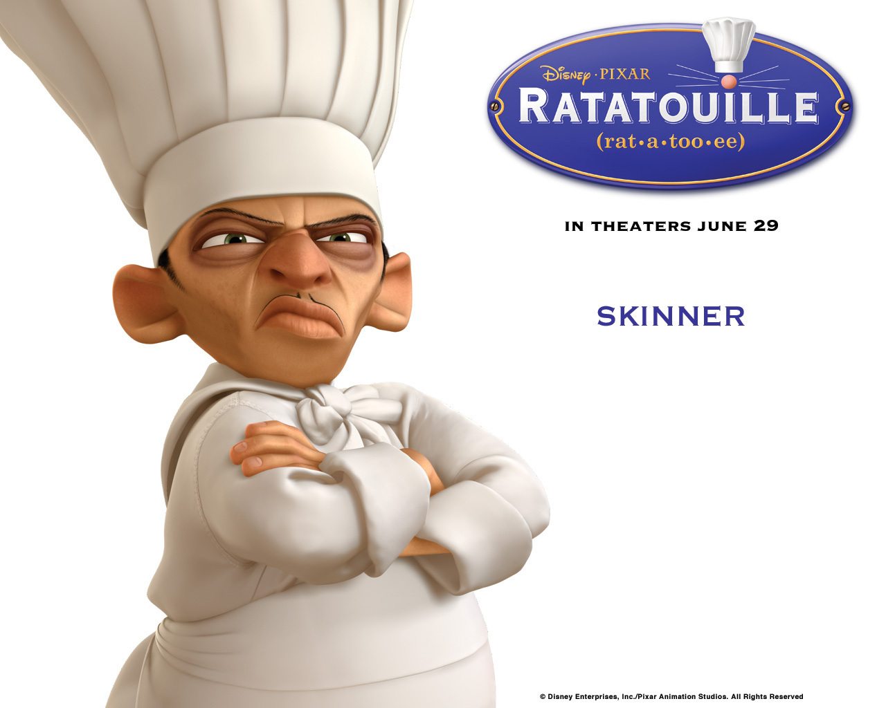 Skinner - ratatouille Wallpaper