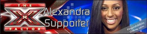 Support Banner - alexandra-burke Photo