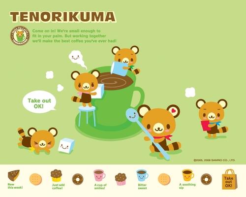 Tenorikuma wallpaper