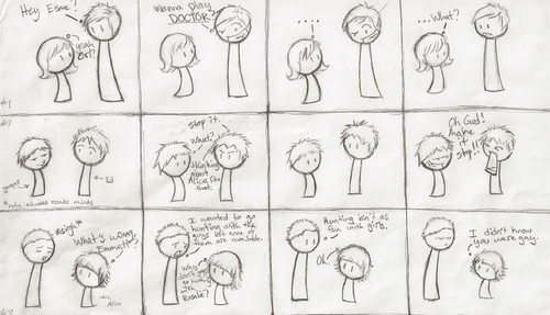 The Cullens! in comics