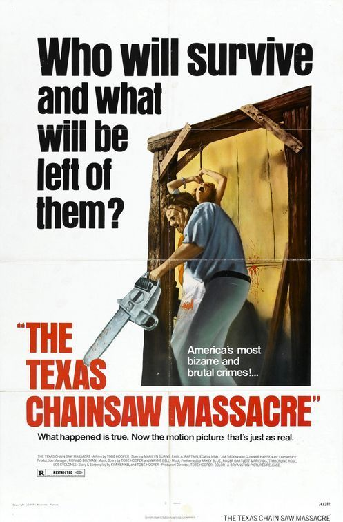 The Texas Chainsaw Massacre original film poster