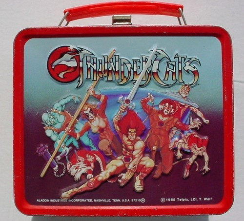 Thundercats Vintage 1985 Lunch Box