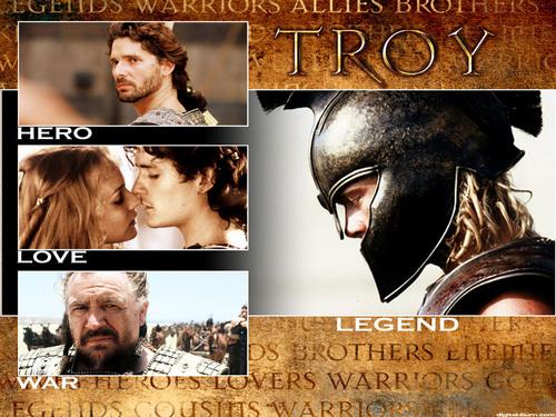 Troy پیپر وال