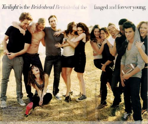 Twilight Series wallpaper titled Twilight Cast