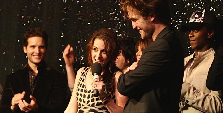 Twilight cast at MTV's Spoilers