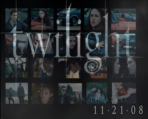 Twilight kertas dinding
