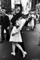 VJ día kiss