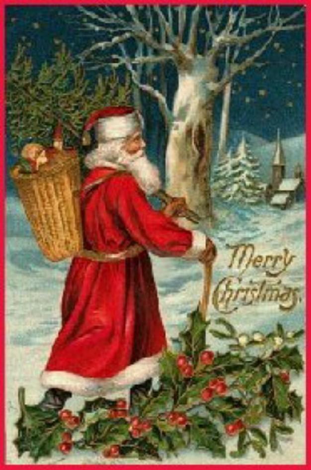Victorian Father Christmas  (Christmas 2008)