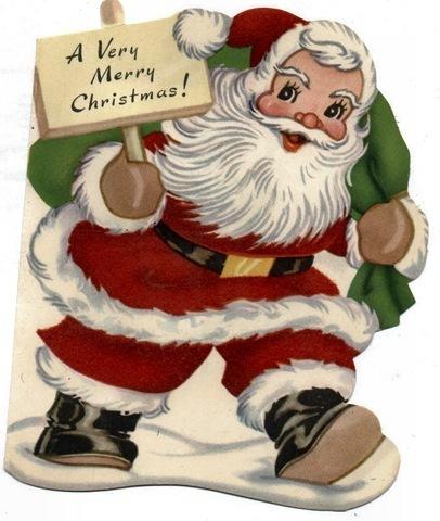 Vintage giáng sinh Card (Christmas 2008)