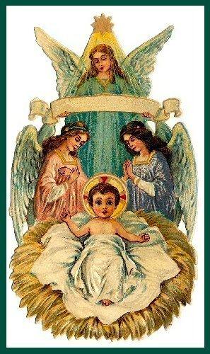 Vintage navidad Card (Christmas 2008)