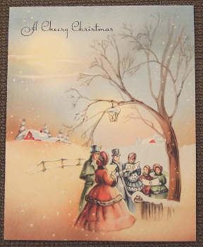 Vintage natal Card (Christmas 2008)