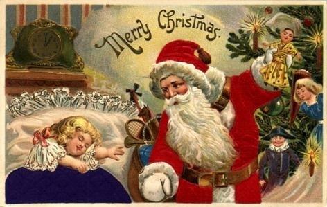 Vintage Christmas Card (Christmas 2008)