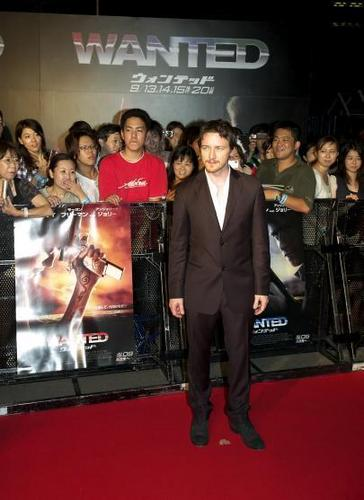 Wanted - jepang Premiere