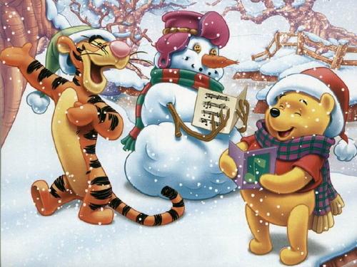 Winnie the Pooh Рождество