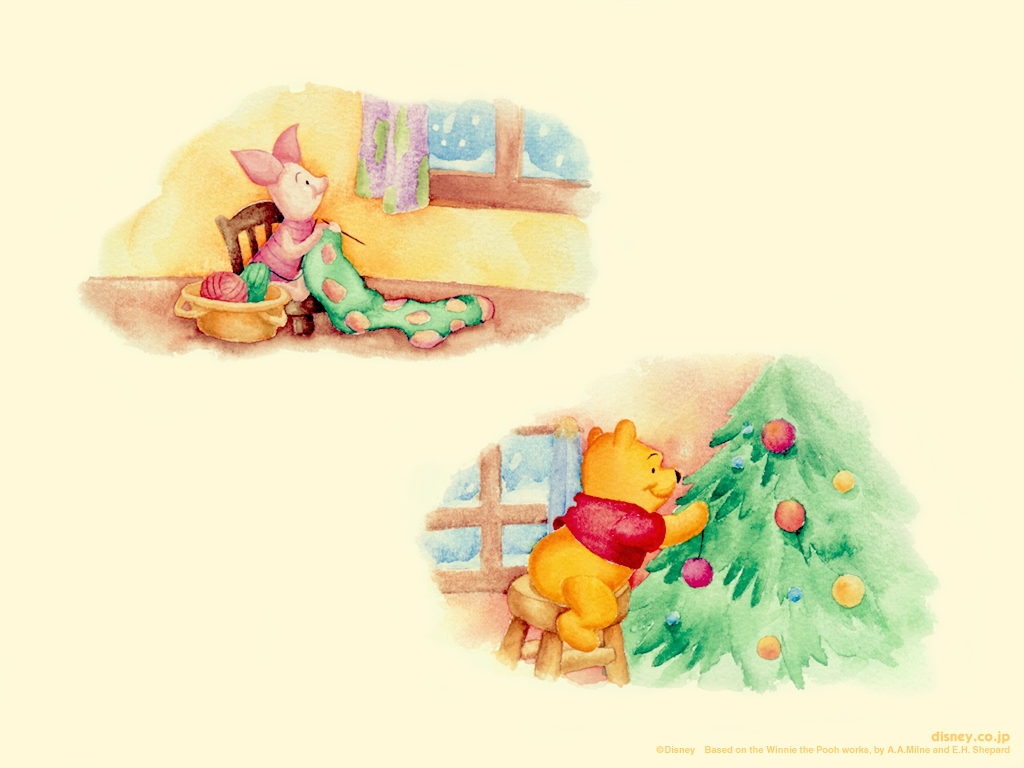 Winnie the Pooh giáng sinh