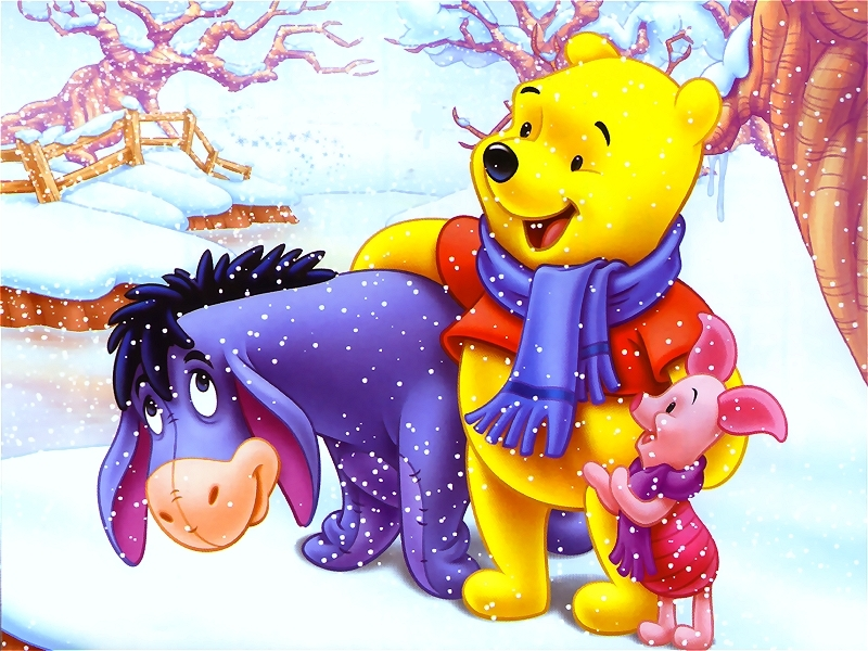 christmas images winnie the pooh christmas hd wallpaper and
