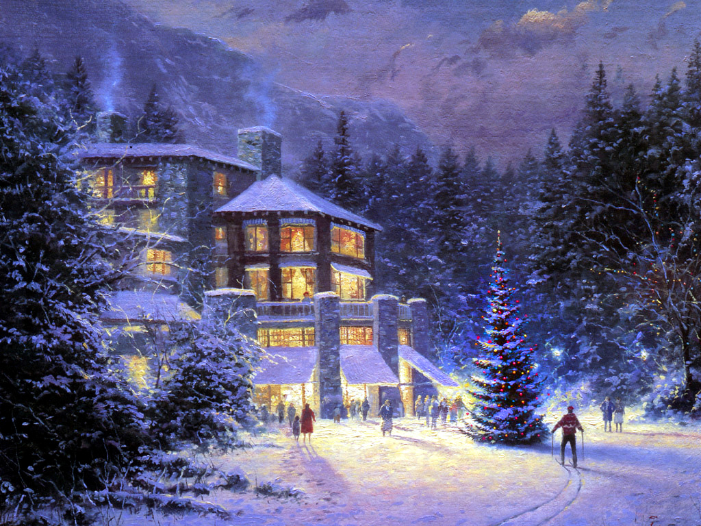 Winter wallpapers winter wallpaper 2768400 fanpop for Pretty christmas pics