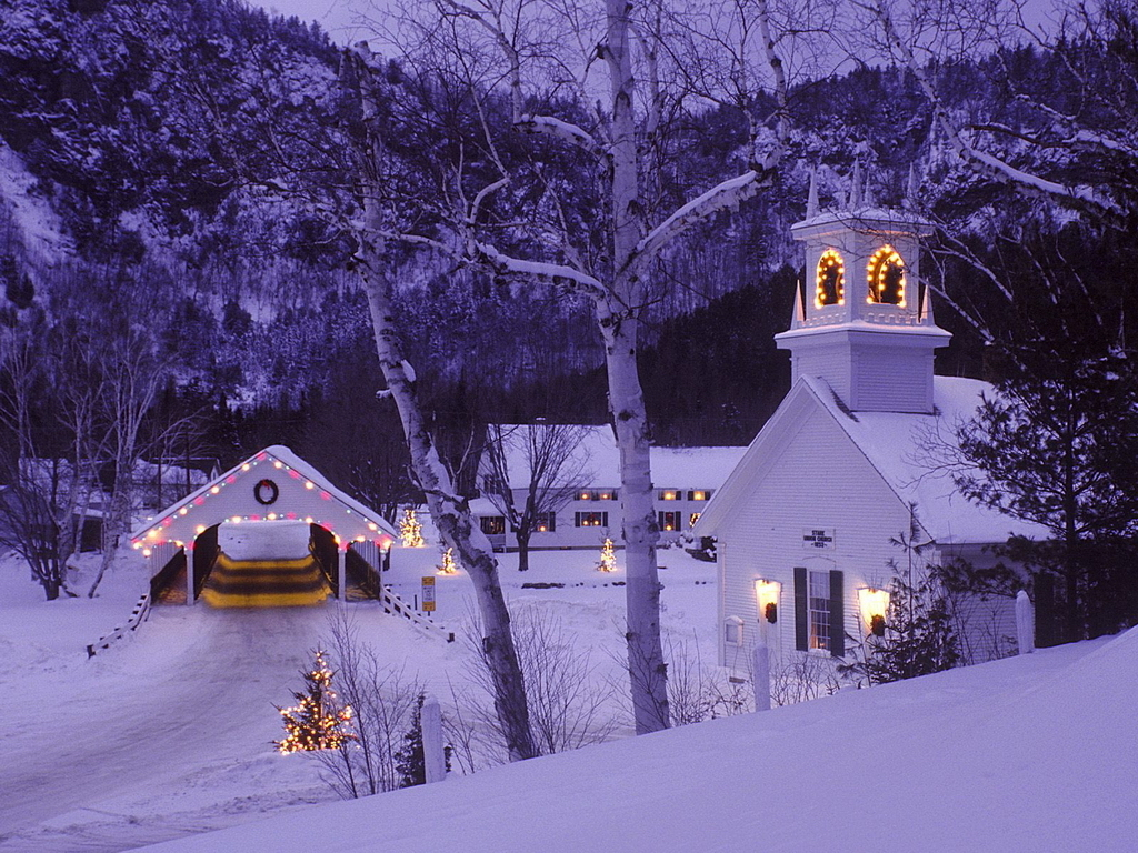 New Hampshire Christmas Scenes