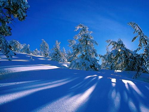 Winter Hintergründe