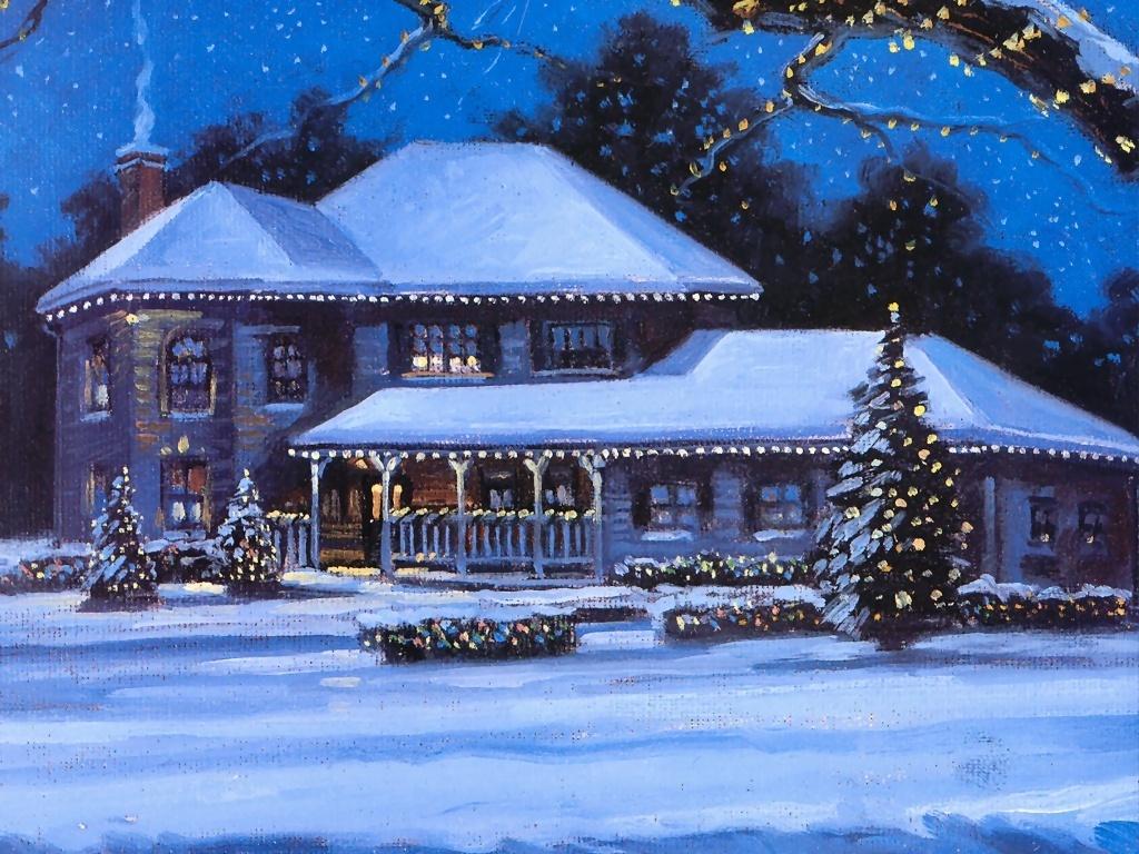 Free Christmas Winter Scenes