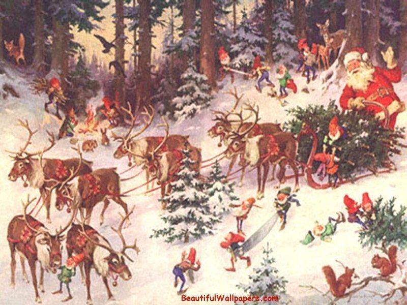 Christmas 2008 wallpapers