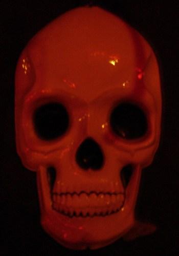 a giant skull