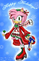 christmas amy - sonic-christmas photo
