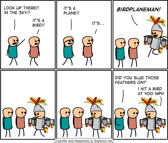 cartoon strips: