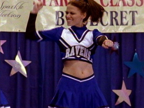 haley cheerleading