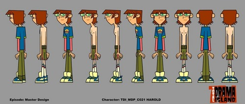 Total Drama Island wallpaper titled harold rotation