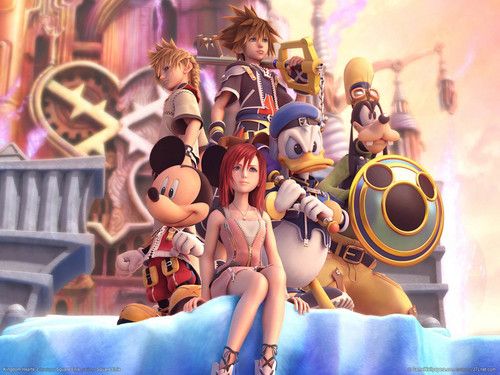 Kingdom Hearts 2 fond d'écran called kh2 charicters