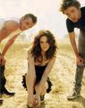 rob, cam and kristen - twilight-series photo