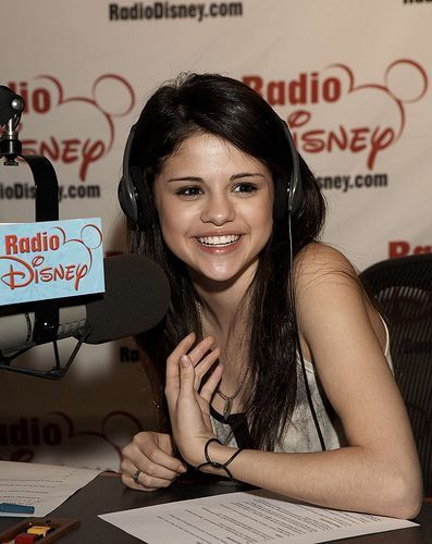 selena in Disney radio
