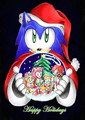 sonic snowglobe - sonic-christmas photo
