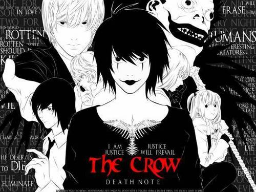 the crow-death note