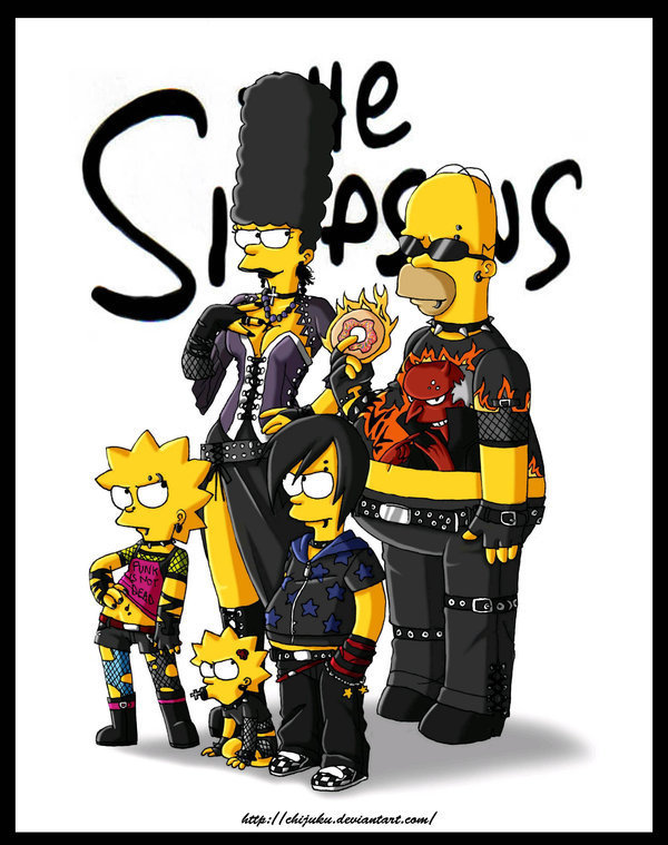 the simpsons emo
