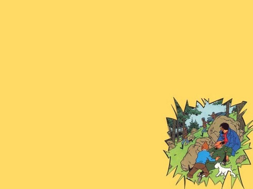tintin - tintin Wallpaper