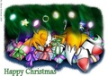 under the christmas tree - sonic-christmas photo