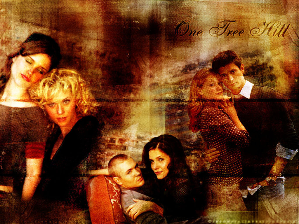 """""""Old"""" wallpaper of OTH characters"""