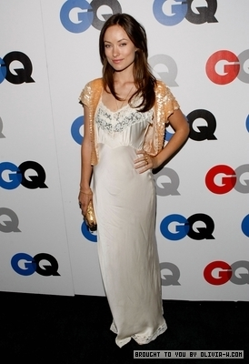 Olivia at the GQ Men of the jaar party in Los Angeles