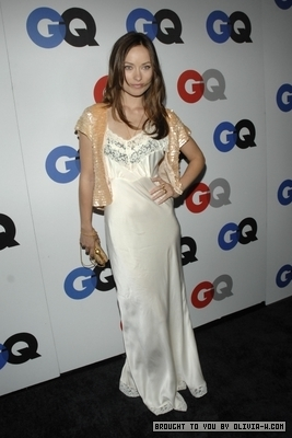 Olivia at the GQ Men of the Year party in Los Angeles