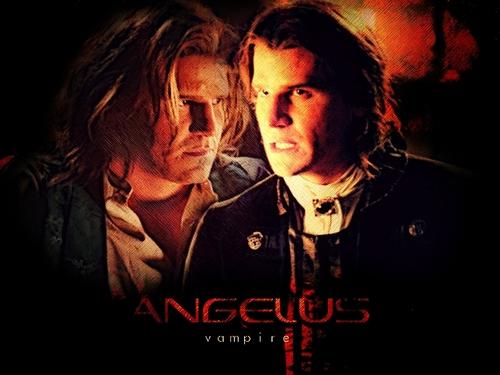 エンジェル vs Angelus 壁紙 titled ANGELUS