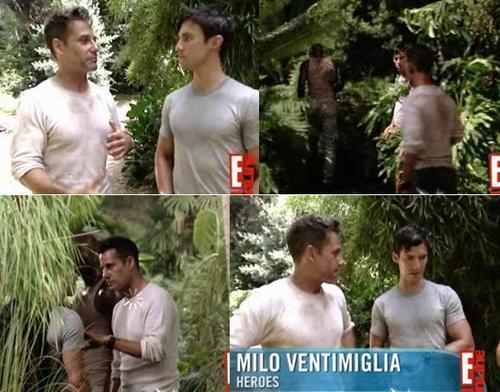 Adrian and Milo E!ONLINE